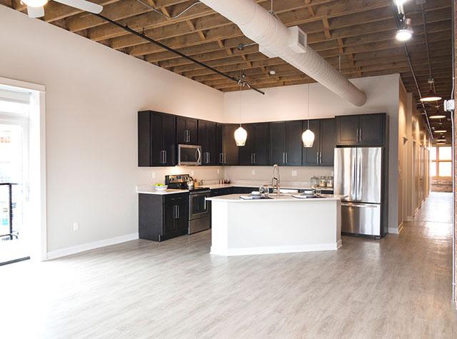 Catalano Lofts Apartments Kitchen