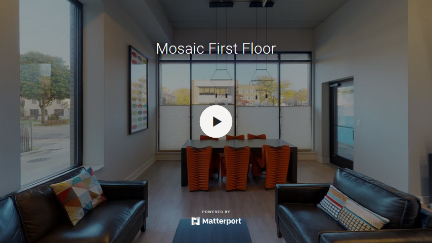 Mosaic First Floor Lobby Virtual Tour