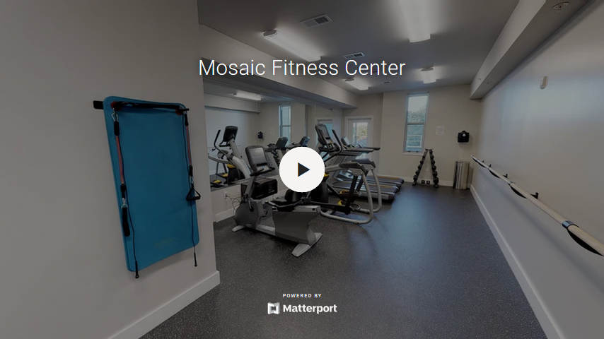 Mosaic Fitness Center Virtual Tour
