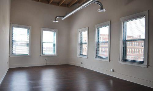 Chicago Street Lofts Bedroom