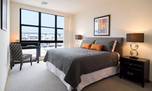 Jackson Square Bedroom with Window