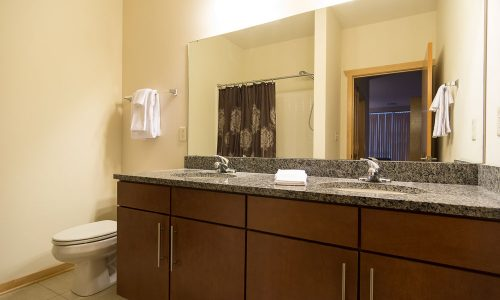 Jackson Street Bathroom 2 Sinks
