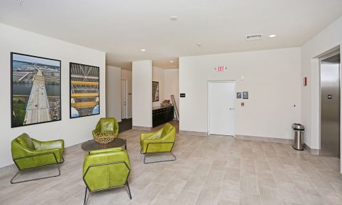 Green Belt Lobby Interior