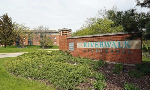 Riverwalk Apartments Outdoor Sign