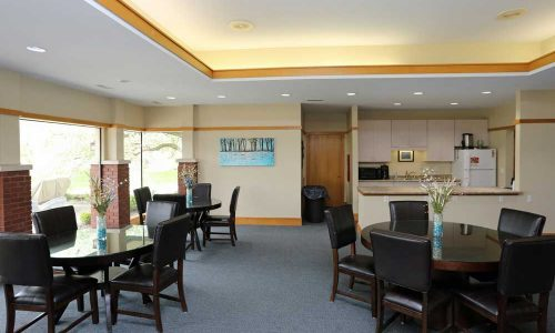 Riverwalk Community Room Interior