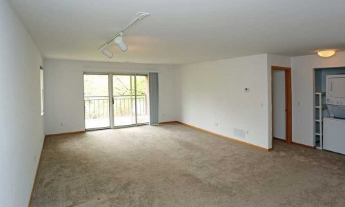 Living Room and Washer Dryer