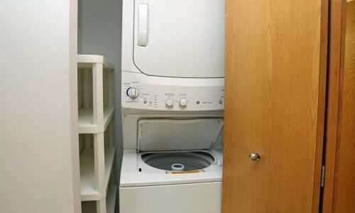 Riverwalk Washer and Dryer in Closet