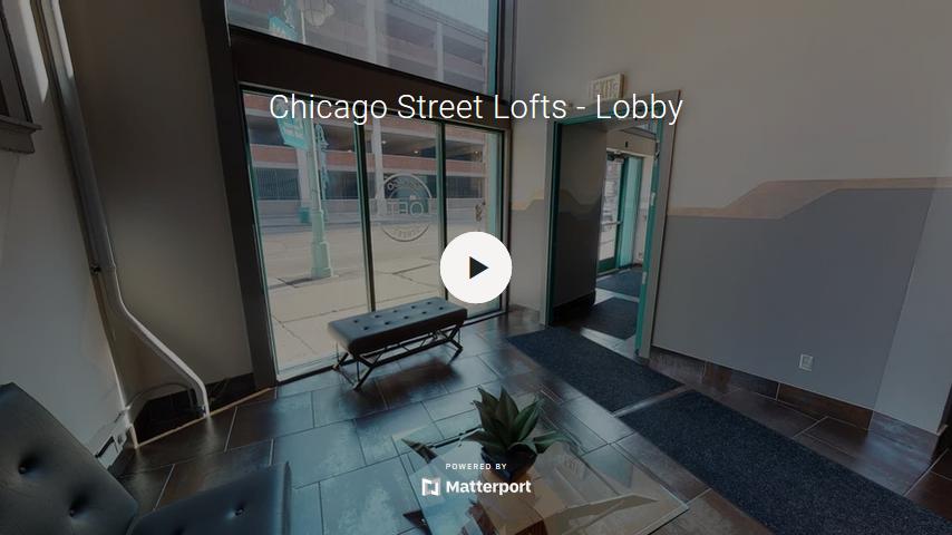 Chicago Street Lofts Lobby Virtual Tour